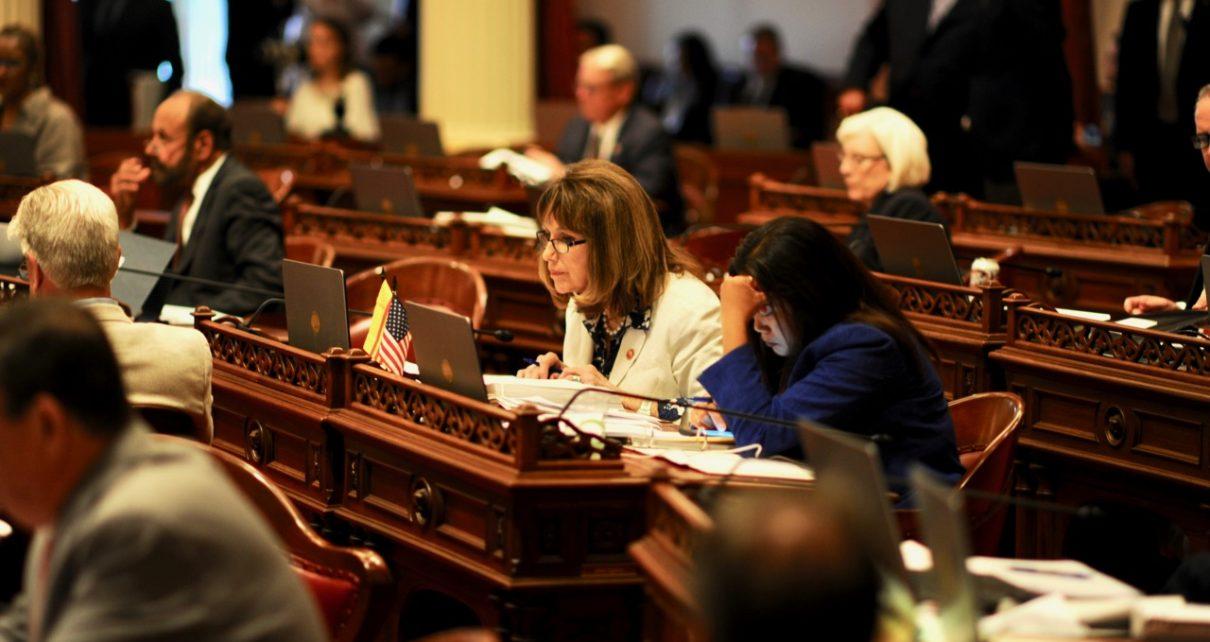 ... California's Motor Voter Law. State Senator Patricia C. Bates. (Kevin Sanders for California Globe)