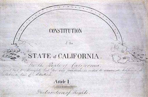 California Constitution