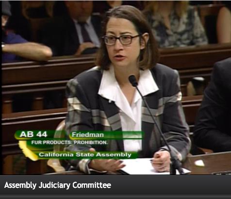 06d385f13 California Fur Ban: Assemblywoman Friedman Calls it a 'Statement of Wealth  and Fashion' - California Globe