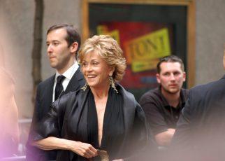Jane Fonda at the Tony Awards 2009