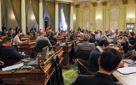 California State Assembly in session